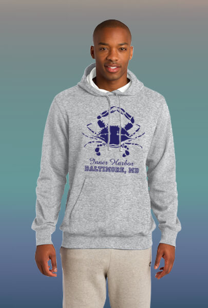 Inner Harbor sweat shirt